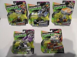 Playmates Teenage Mutant Ninja Turtles T-Machines x 5 bundle / Job Lot TMNT
