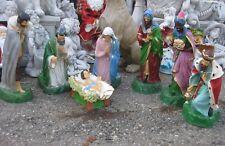 52 cm große Krippenfiguren Figuren Krippe Josef Maria Jesuskind Hl. 3 Könige neu