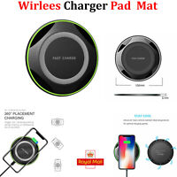 QI Wireless Charger Fast Charging Pad For Apple iPhone 11 Pro X XR XS Max 12 UK