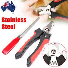 Pet Dog Heavy Duty Nail Clipper Rabbit Toe Cutter Scissors Claw Paw Grooming L