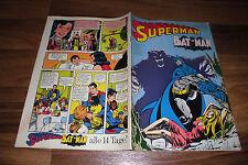 SUPERMAN / BATMAN  # 21 vom 12.10.1974 -- mit Sammelecke