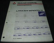 Werkstatthandbuch Elektrik Mitsubishi Lancer Wagon elektrische Schaltpläne 1989!