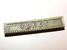 WWII US ARMY USMC NAVY AMERICAN DEFENSE SERVICE MEDAL FLEET BAR CLASP