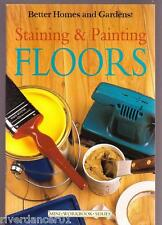 STAINING AND PAINTING FLOORS Better Homes And Gardens ~ NEW SC