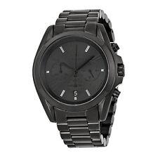 Michael Kors Bradshaw Chronograph Black Dial Black Ion-plated Mens Watch-AU