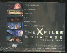 THE X-FILES SHOWCASE VOLUME ONE Trading Cards. Unopened box.
