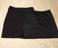 Lot of 2 Woman's Skirts-size 0 and 2 Cache and The Limited EUC