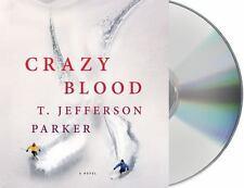 T Jefferson Parker CRAZY BLOOD Unabridged CD *NEW* FAST Ship!