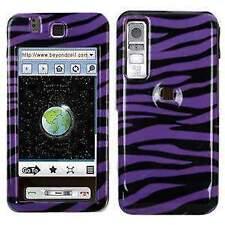 AMZER Zebra Print Snap On Case - Samsung Behold T919