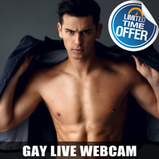 RARE Full Functional GAY Live Cam Website For sale - Hundreds of Models!