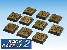 20mm Resin Scenic Bases 10 Sq Cobblestone Warhammer