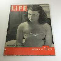 Vintage Life Magazine: November 14 1938 - Debutante Brenda Diana Duff Frazier