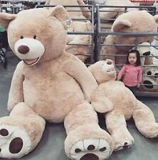 "79""200CM TEDDY BEAR SUPER HUGE  (ONLY COVER) PLUSH TOY SHELL (WITH ZIPPER)"