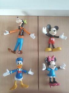 Disneys Original Biegefiguren von Albert Heijn NL : Goofy,Micky, Minnie & Donald