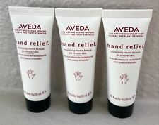 NEW!! Set of three AVEDA hand relief moisturizing creme .85 fl oz 25 ml