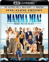 Mamma Mia Here We Go Again (Blu-ray,DVD,4K Ultra HD) BRAND NEW - FREE SHIPPING ™