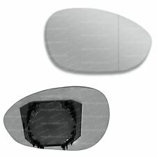 Fiat 500 2007-2017 right side heated convex mirror glass /& plate 71RSHP