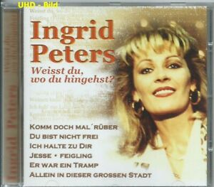 [Kult - CD] Ingrid Peters - Weisst Du, Wo Du Hingehst? Best-Of / Schlager / 022