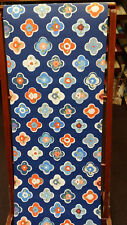 Oilily, Navy, Red & White Floral Wallpaper