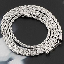 Rope Chain Mens Womens boys jewelry Hip hop Heavy Stainless steel Fashion