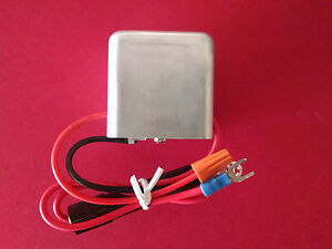 PORSCHE 356 & VW 6 to 12 Volt Booster Converter Negative Ground Voltage 12V