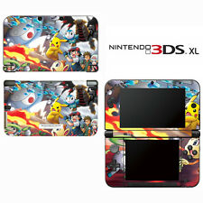 Vinyl Skin Decal Cover for Nintendo 3DS XL LL - Pokemon Pikachu