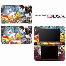 Vinyl Skin Decal Cover for Nintendo 3DS XL LL - Pokemon Pikachu