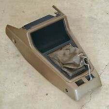 Toyota Corona T130 Manual Center Shifter Surround Trim Console Tan 1977-1983