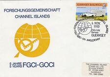 (90626) clairance gb guernsey cover FGGI-gocci Forschungsgemeinschaft 4 nov 1980