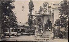 Russia-ukraine 1916 pc postcard scherer AK slowjansk restoraunts unused
