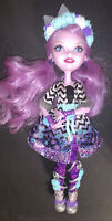 EVER AFTER HIGH HTF SPRING UNSPRUNG KITTY CHESHIRE CHESIRE DOLL, RARE