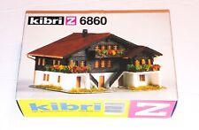 "Vintage kibri z-6860 ""chalet ib le s diablerets"" kit, NOB West Germany"