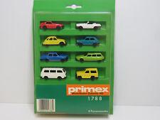 8 Fahrzeuge,T3,Ente,SL,Porsche,Golf,PRIMEX H0,rare,1788,OVP,UW