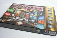 Monopoly Imperium Big Business mit den Topmarken der Welt Karten verschweißt