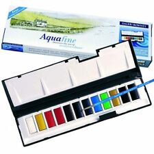 Daler Rowney Aquafine Watercolour - Whole Pan Set