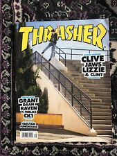 Thrasher Magazine:  Clive Dixon Cover, September 2017, Issue # 446