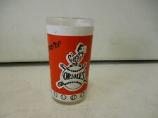 1960's Baltimore Orioles Glass