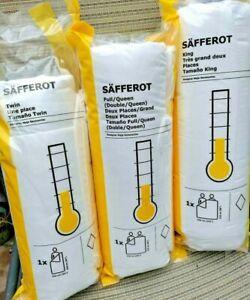 Ikea SAFFEROT Light Comforter Duvet Insert Down Altern Twin FullQueen King FREES