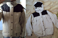 Womens The North Face beige rain wind jacket Medium-Large
