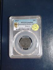 1917 Belgium Ten Cents PCGS AU 10C Coin PRICED TO SELL NOW!