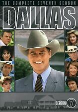 Dallas TV Series Season 7 DVD Box 6 Disc Set Special Features Like New Seventh