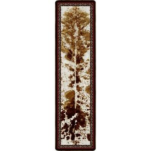 Vaquero Spotted Brindle Southwestern Country Lodge Rug 2'x8' Runner