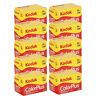 10 Rolls Kodak ColorPlus Color Plus 200 ASA 135-24 Exp 35mm Film, US SELLER
