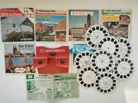 Made in USA GAF VIEW-MASTER +  22 DISCS TO PLAY  NOT ALL DISCS ARE PACKED