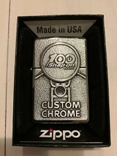 Zippo Limited Edition SnapOn Custom Chrome 100 Year Lighter