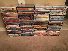 LOT OF 123 KIDS/DISNEYS/ANIMATED & NON ANIMATED MOVIES, DVDS