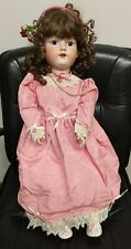 "Antique Armand Marseille A. 12 M. 30"" Restored Beautiful Porcelain Doll, Clothes"