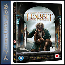 THE HOBBIT - THE BATTLE OF THE FIVE ARMIES *BRAND NEW DVD***