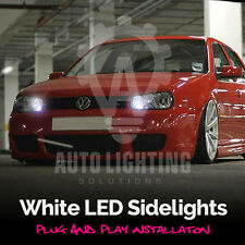 VW Golf MK4 IV 4 TDI GTI Xenon White LED Sidelight Bulb Upgrade