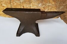 Vintage Peter Wright 132 Lbs Blacksmithing Knifemakers Anvil marked 1 0 20